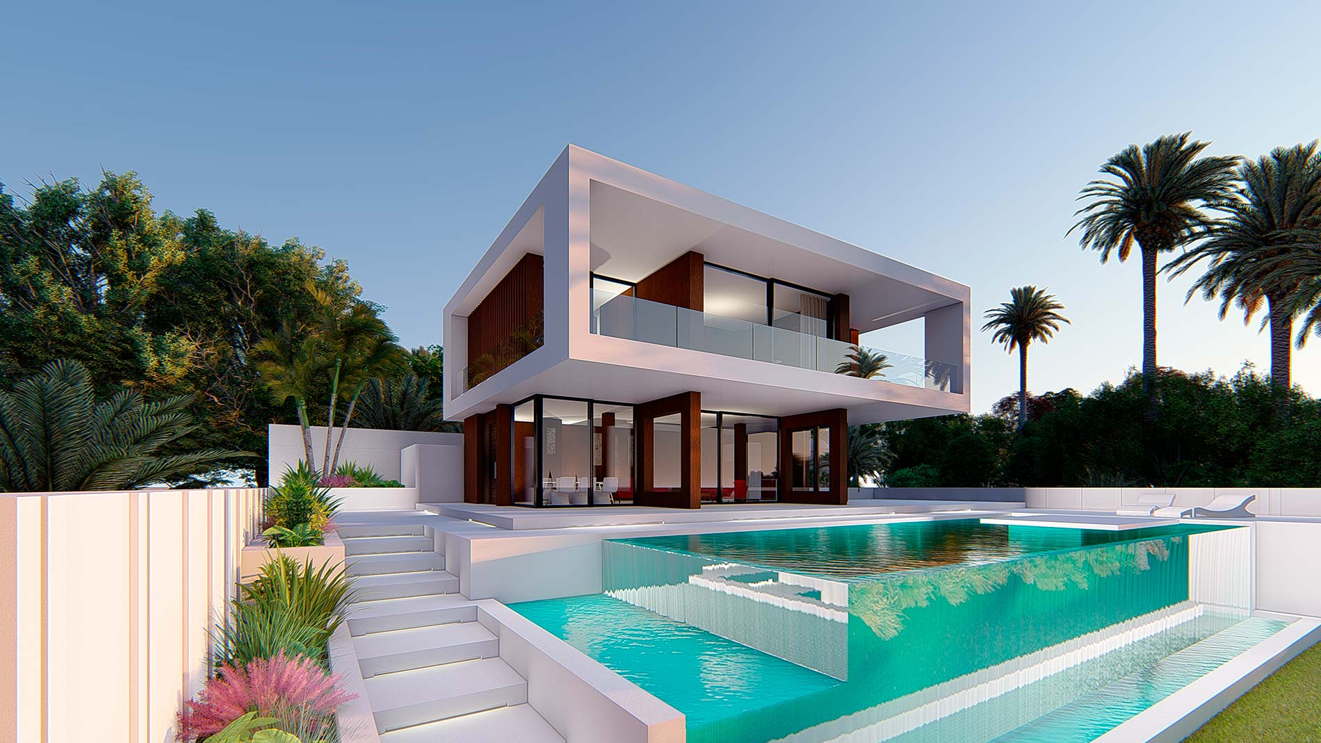 Newly built - Brand new contemporary villa